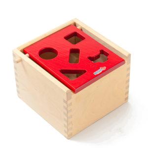 Mポストボックス赤
